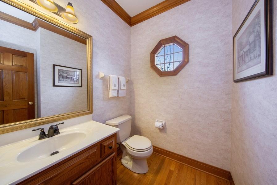 Real Estate Photography - 1485 Wilmette Street, Wheaton, IL, 60187 - Powder Room