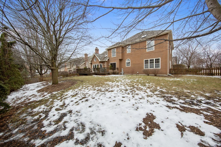Real Estate Photography - 1485 Wilmette Street, Wheaton, IL, 60187 - Back Yard