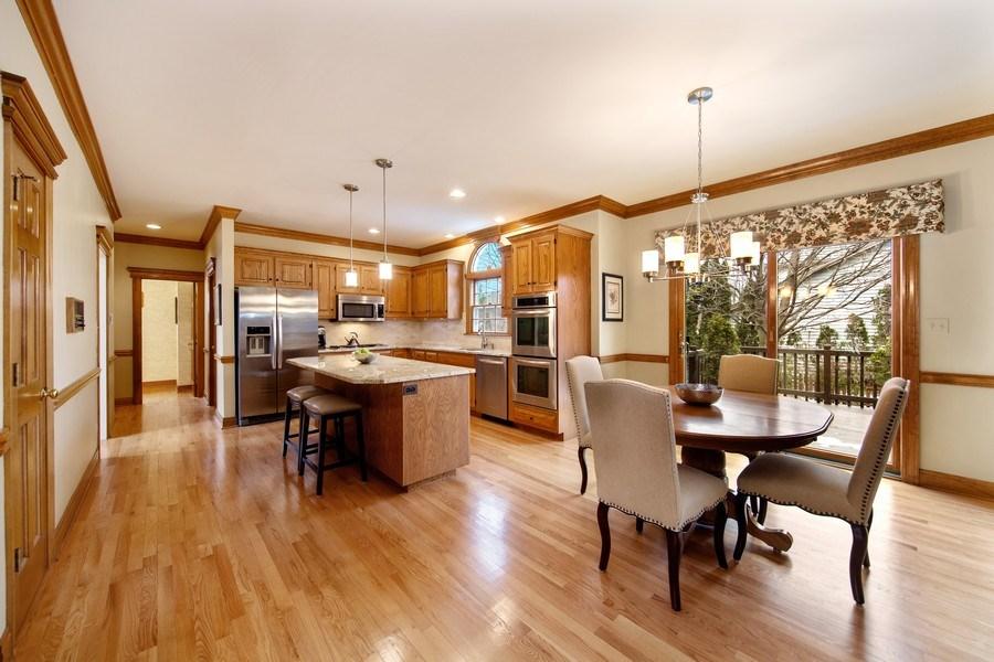 Real Estate Photography - 1485 Wilmette Street, Wheaton, IL, 60187 - Breakfast Area