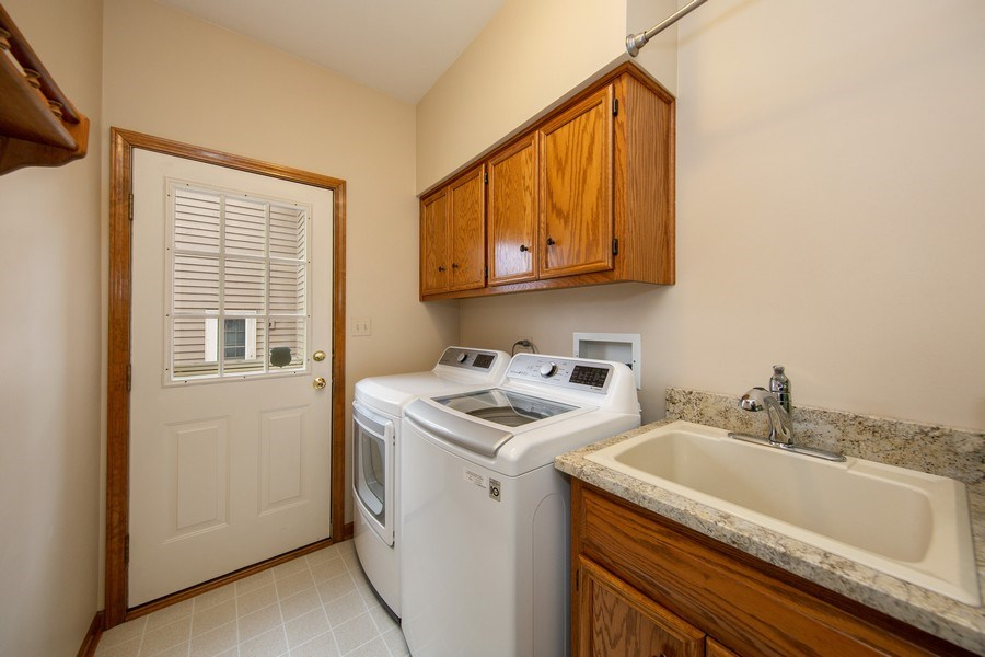 Real Estate Photography - 1485 Wilmette Street, Wheaton, IL, 60187 - Laundry Room