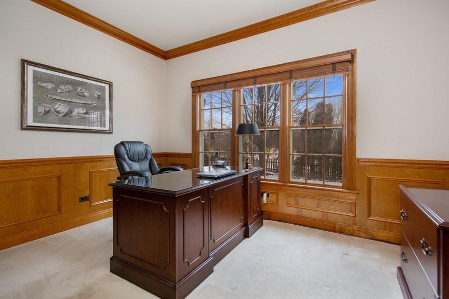 Real Estate Photography - 1485 Wilmette Street, Wheaton, IL, 60187 - Den