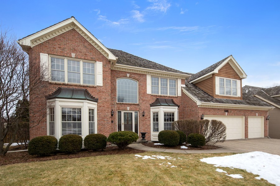 Real Estate Photography - 1485 Wilmette Street, Wheaton, IL, 60187 - Front View