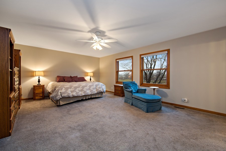 Real Estate Photography - 1385 Valayna Drive, Aurora, IL, 60504 - Master Bedroom
