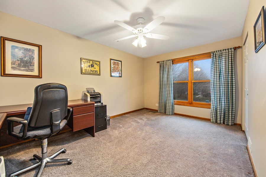 Real Estate Photography - 1385 Valayna Drive, Aurora, IL, 60504 - 2nd Bedroom