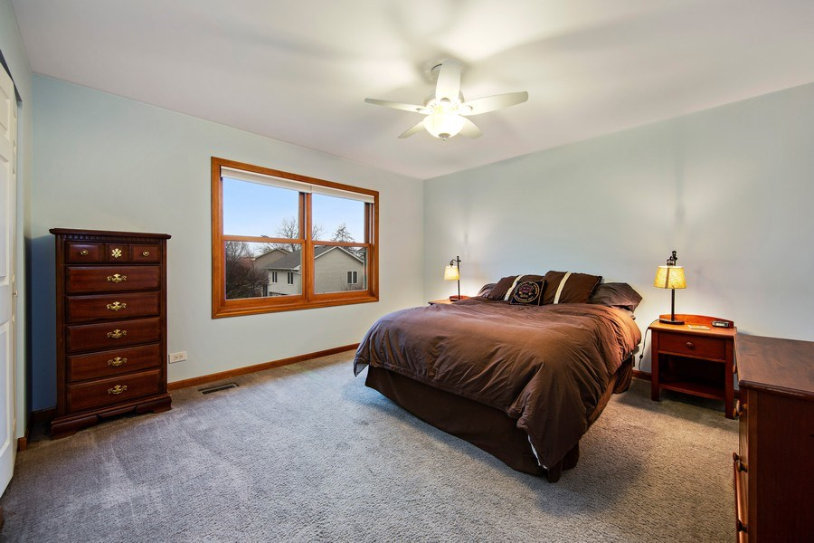 Real Estate Photography - 1385 Valayna Drive, Aurora, IL, 60504 - 3rd Bedroom