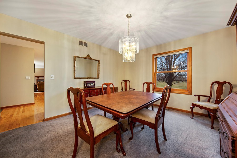 Real Estate Photography - 1385 Valayna Drive, Aurora, IL, 60504 - Dining Room