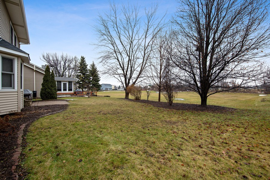 Real Estate Photography - 1385 Valayna Drive, Aurora, IL, 60504 - Back Yard