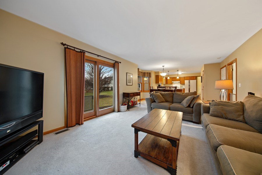 Real Estate Photography - 1385 Valayna Drive, Aurora, IL, 60504 - Family Room