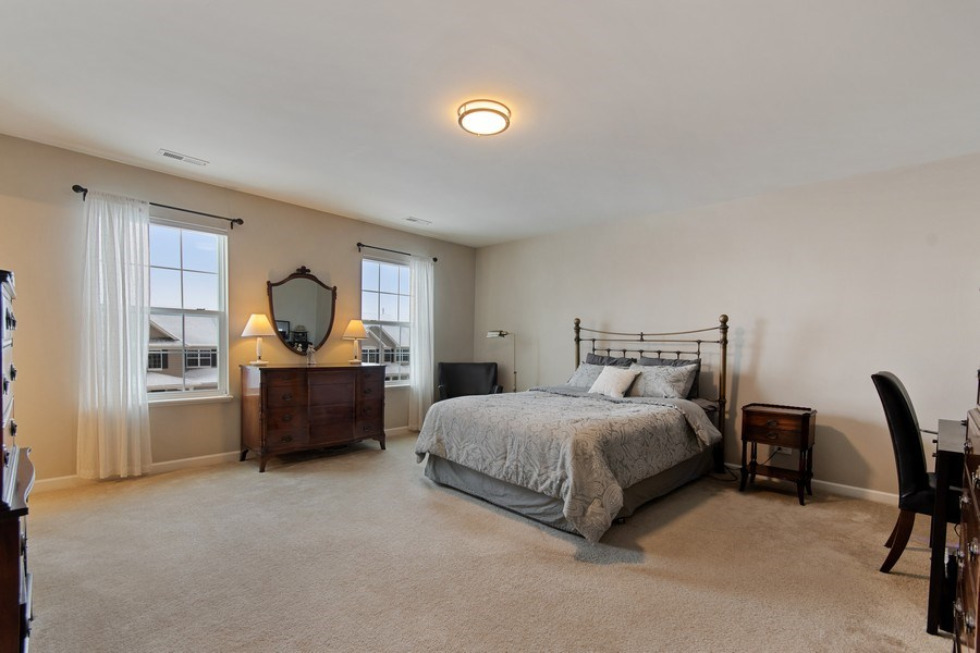 Real Estate Photography - 4048 POMPTON Avenue, Elgin, IL, 60124 - Master Bedroom