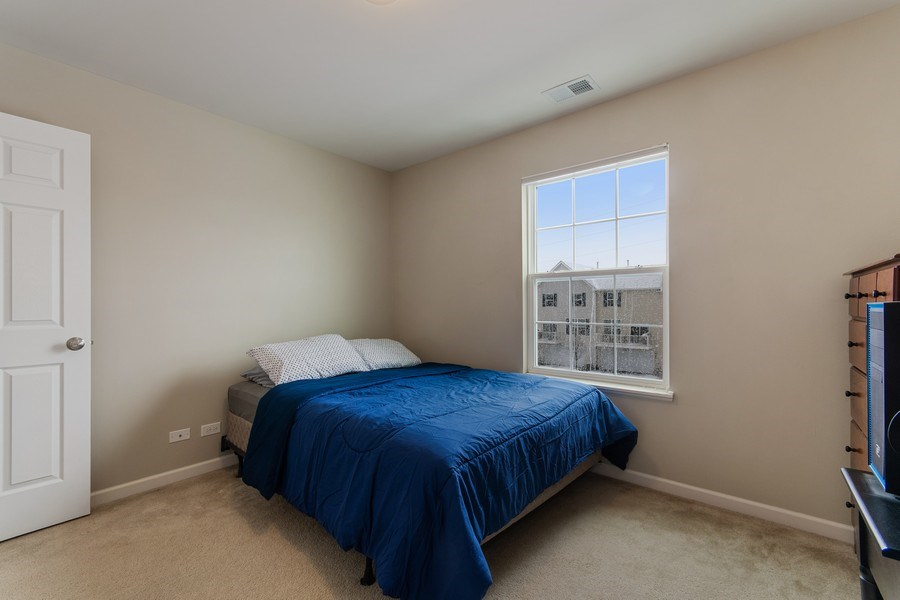 Real Estate Photography - 4048 POMPTON Avenue, Elgin, IL, 60124 - 3rd Bedroom