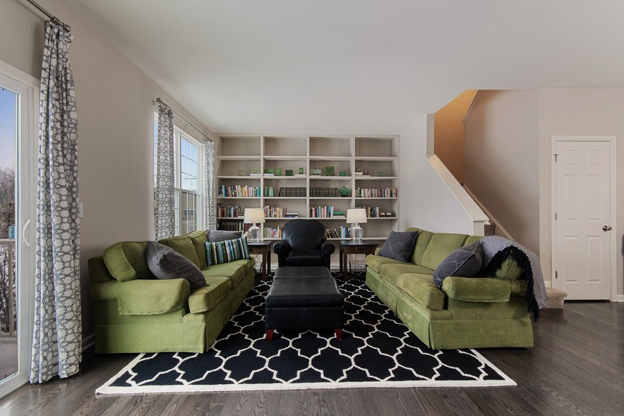 Real Estate Photography - 4048 POMPTON Avenue, Elgin, IL, 60124 - Family Room