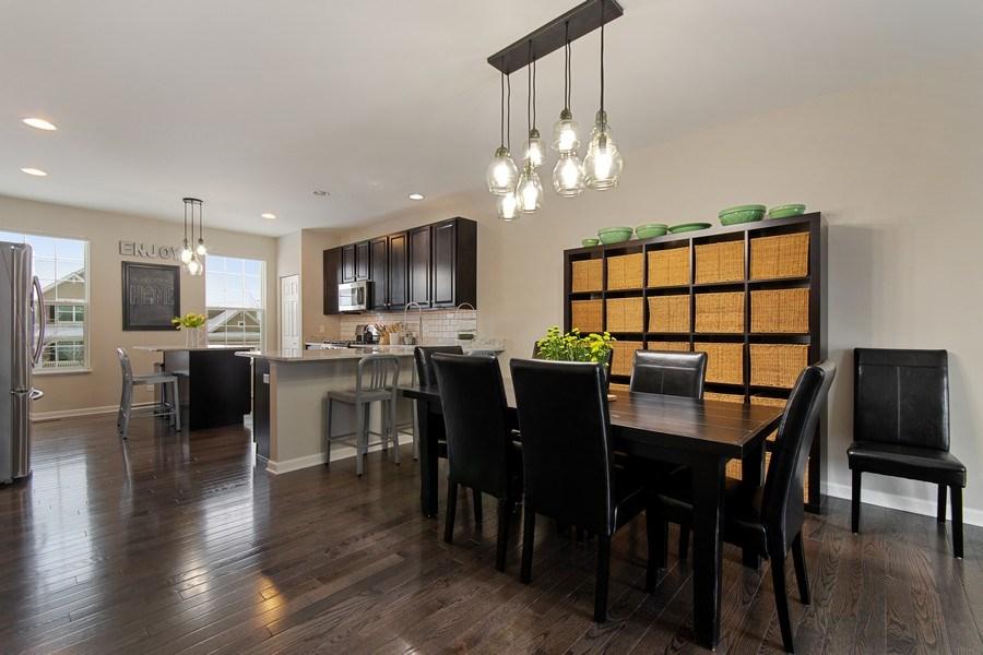 Real Estate Photography - 4048 POMPTON Avenue, Elgin, IL, 60124 - Dining Area