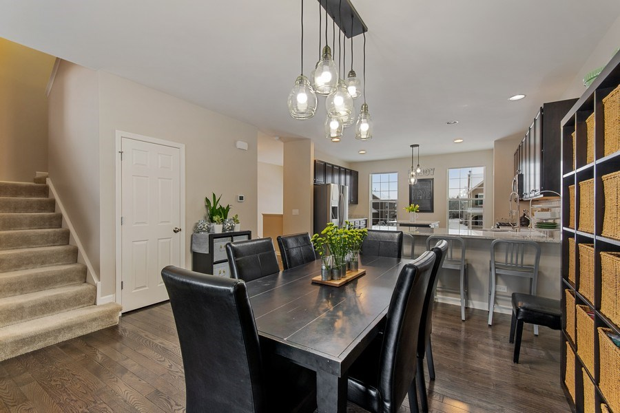 Real Estate Photography - 4048 POMPTON Avenue, Elgin, IL, 60124 - Dining Room