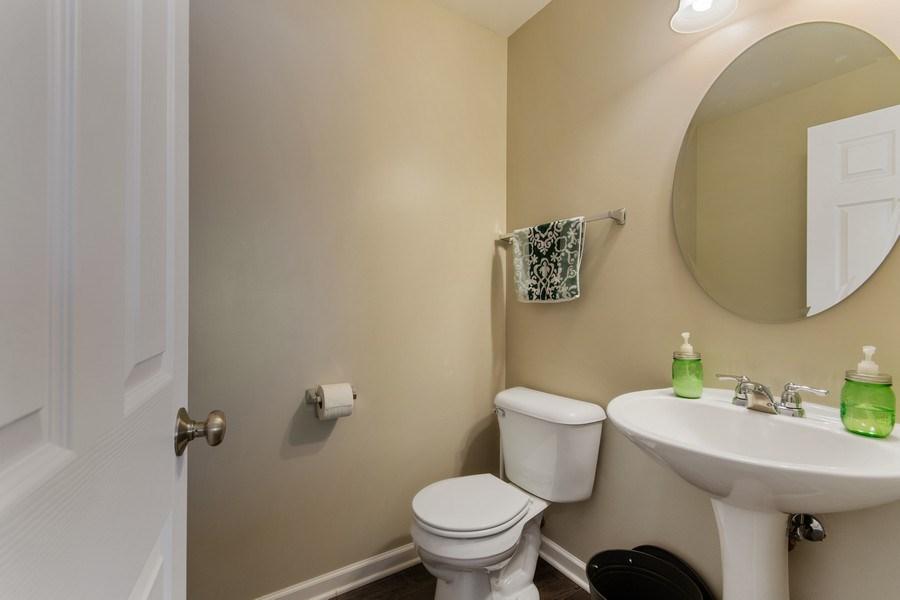 Real Estate Photography - 4048 POMPTON Avenue, Elgin, IL, 60124 - Half Bath