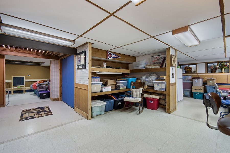 Real Estate Photography - 8S526 Bell Drive, Naperville, IL, 60565 - Basement