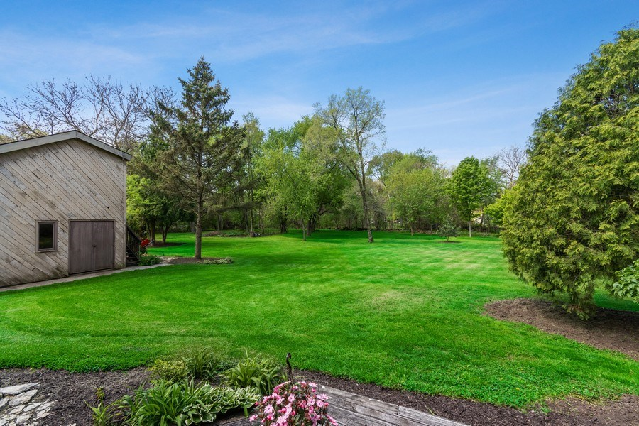 Real Estate Photography - 8S526 Bell Drive, Naperville, IL, 60565 - Back Yard