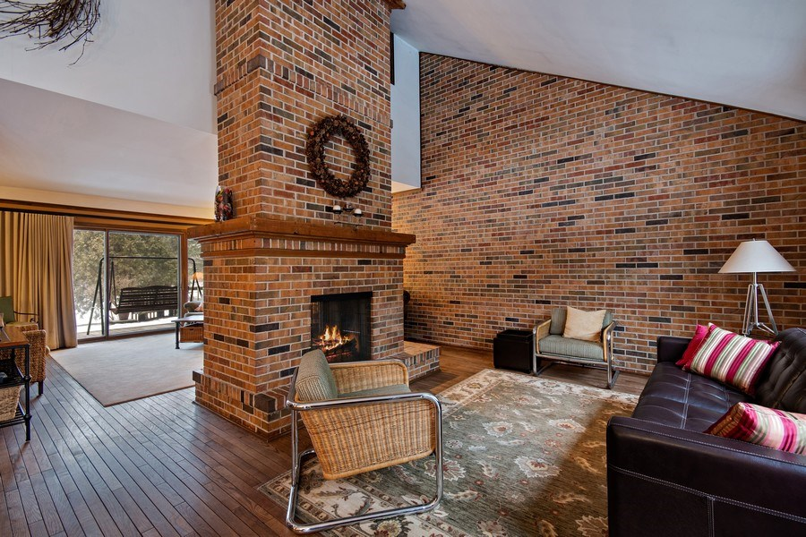 Real Estate Photography - 8S526 Bell Drive, Naperville, IL, 60565 - Family Room