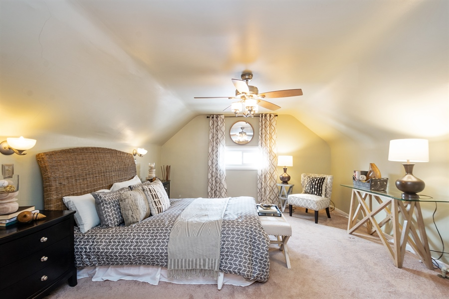 Real Estate Photography - 808 N. Humphrey Avenue, Oak Park, IL, 60302 - Master Bedroom