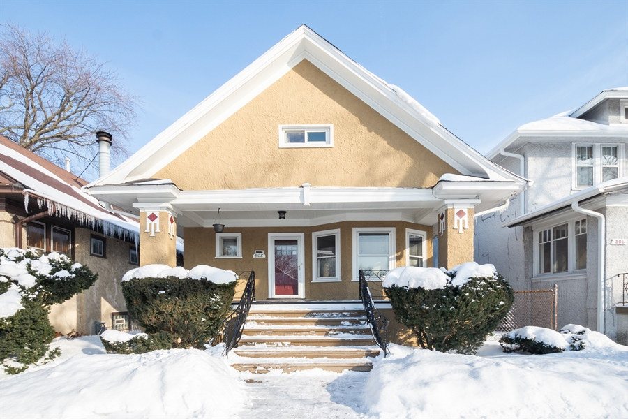 Real Estate Photography - 808 N. Humphrey Avenue, Oak Park, IL, 60302 - Front View