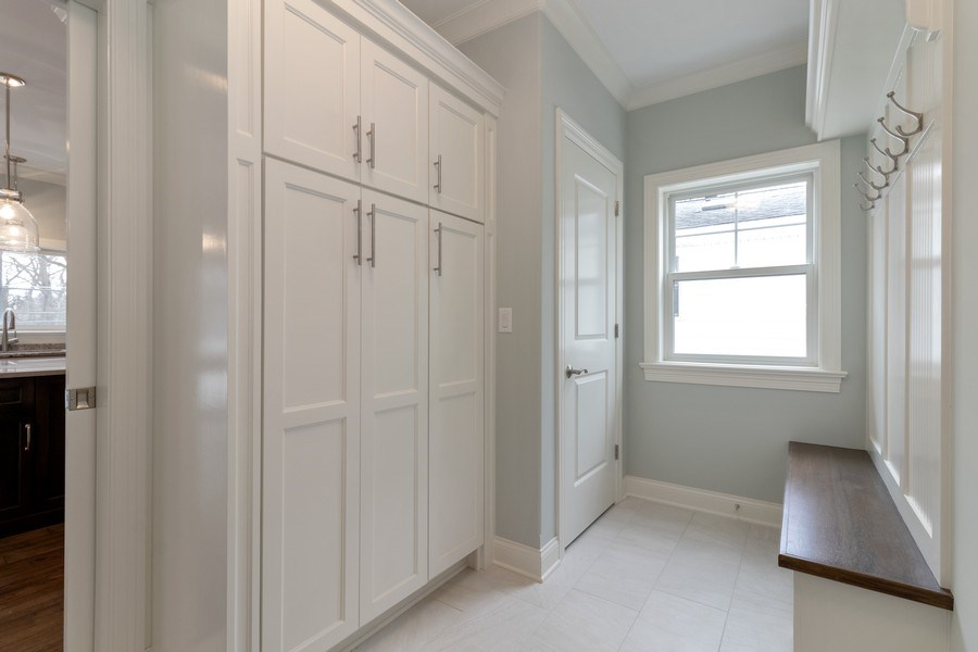 Real Estate Photography - 1513 George Street, Downers Grove, IL, 60516 - Mudroom