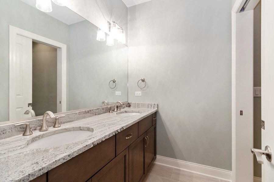 Real Estate Photography - 1513 George Street, Downers Grove, IL, 60516 - Bathroom