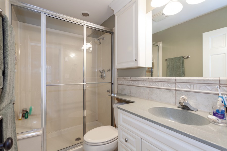 Real Estate Photography - 3860 Belleaire Drive, Downers Grove, IL, 60515 - Master Bathroom