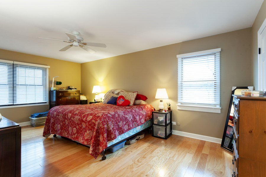 Real Estate Photography - 3860 Belleaire Drive, Downers Grove, IL, 60515 - Master Bedroom