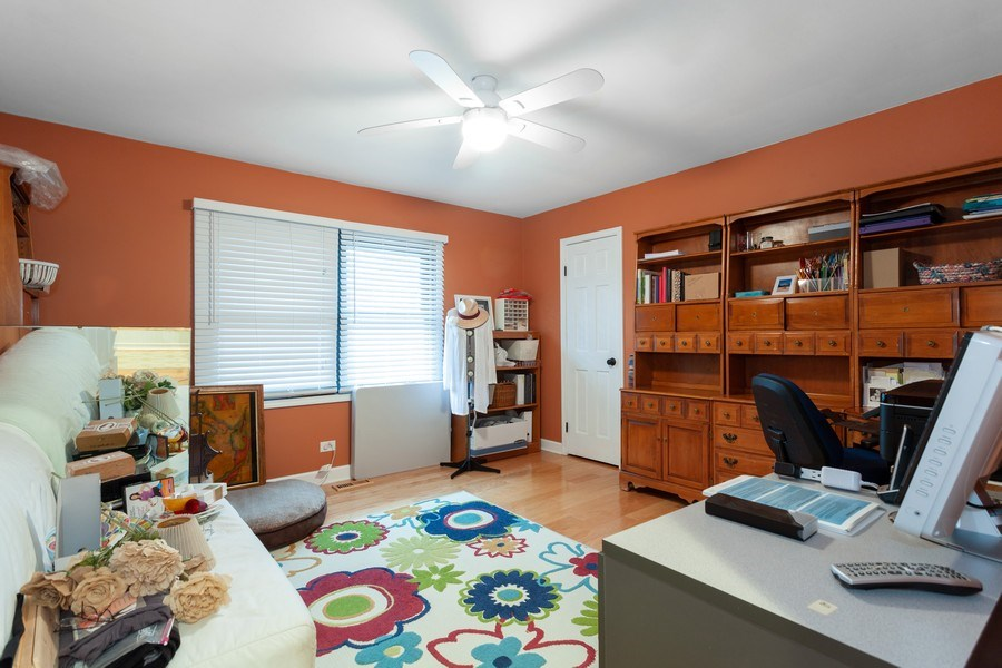 Real Estate Photography - 3860 Belleaire Drive, Downers Grove, IL, 60515 - 3rd Bedroom