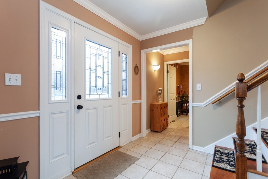 Real Estate Photography - 3860 Belleaire Drive, Downers Grove, IL, 60515 - Foyer