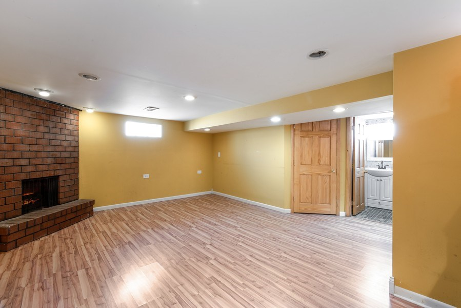 Real Estate Photography - 3601 S. 56th Court, Cicero, IL, 60804 - Basement