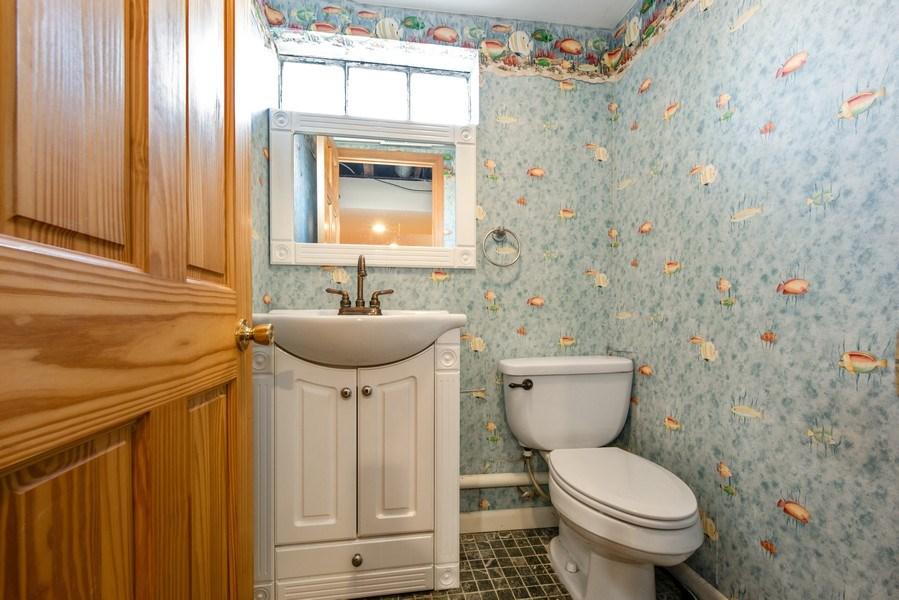 Real Estate Photography - 3601 S. 56th Court, Cicero, IL, 60804 - Basement Half Bath