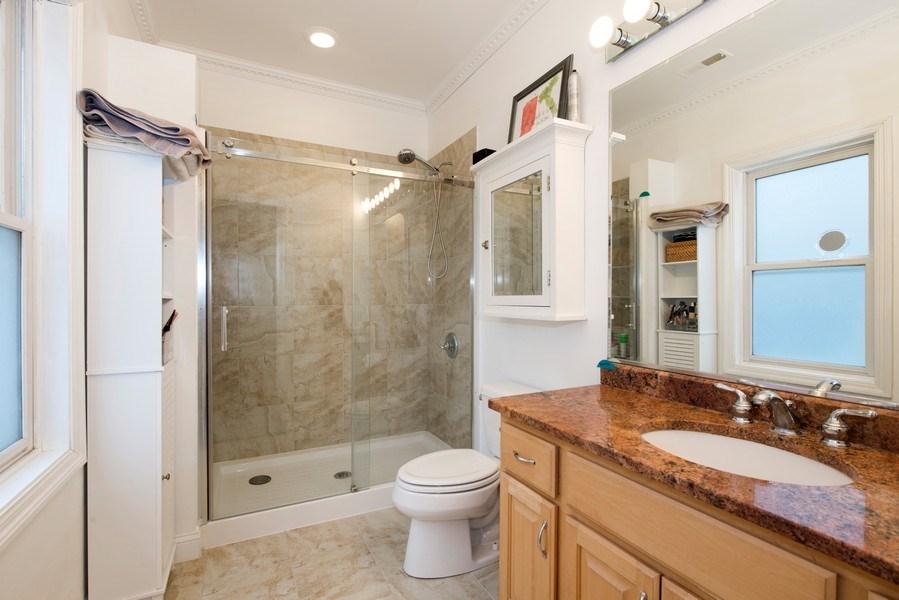 Real Estate Photography - 1926 W. BELMONT Avenue, Unit 3, Chicago, IL, 60657 - Master Bathroom
