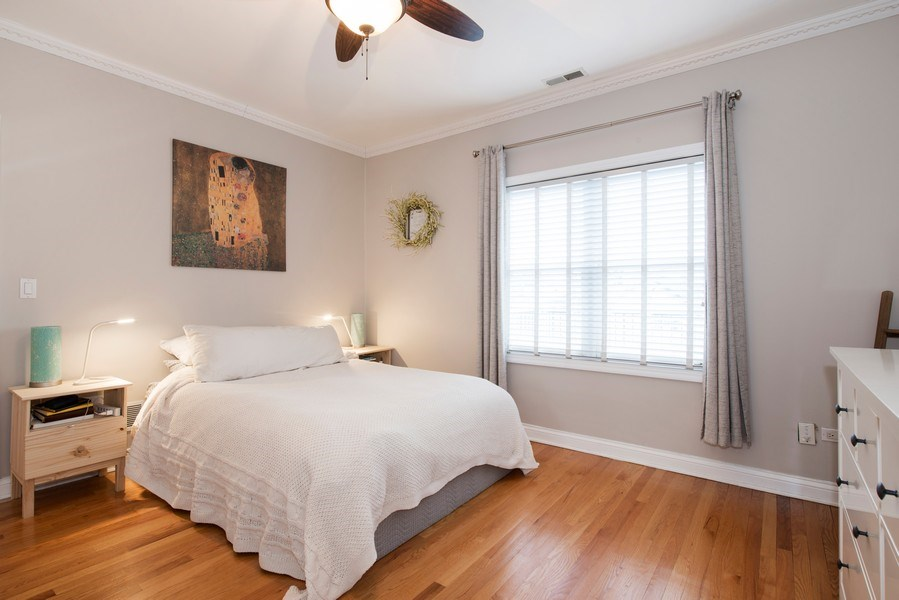 Real Estate Photography - 1926 W. BELMONT Avenue, Unit 3, Chicago, IL, 60657 - Master Bedroom