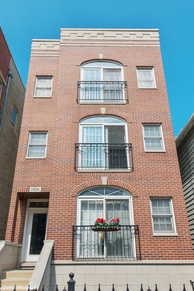 Real Estate Photography - 1926 W. BELMONT Avenue, Unit 3, Chicago, IL, 60657 - Front View