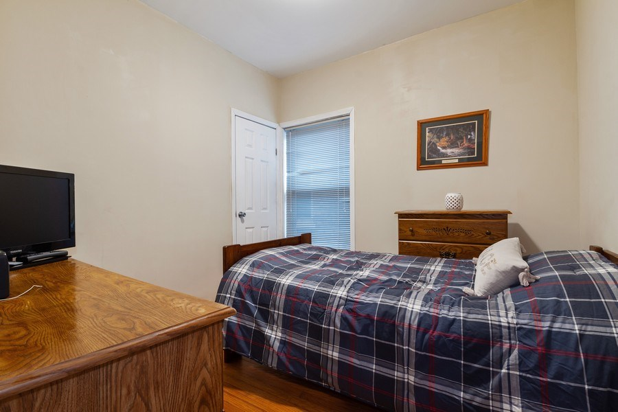 Real Estate Photography - 5319 W. Agatite Avenue, Chicago, IL, 60630 - 4th Bedroom