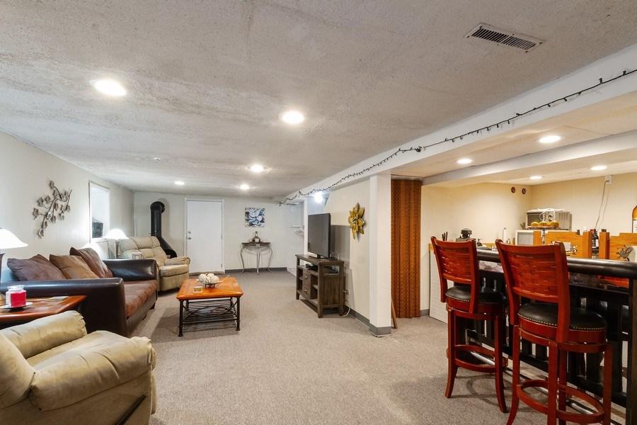 Real Estate Photography - 5319 W. Agatite Avenue, Chicago, IL, 60630 - Lower Level