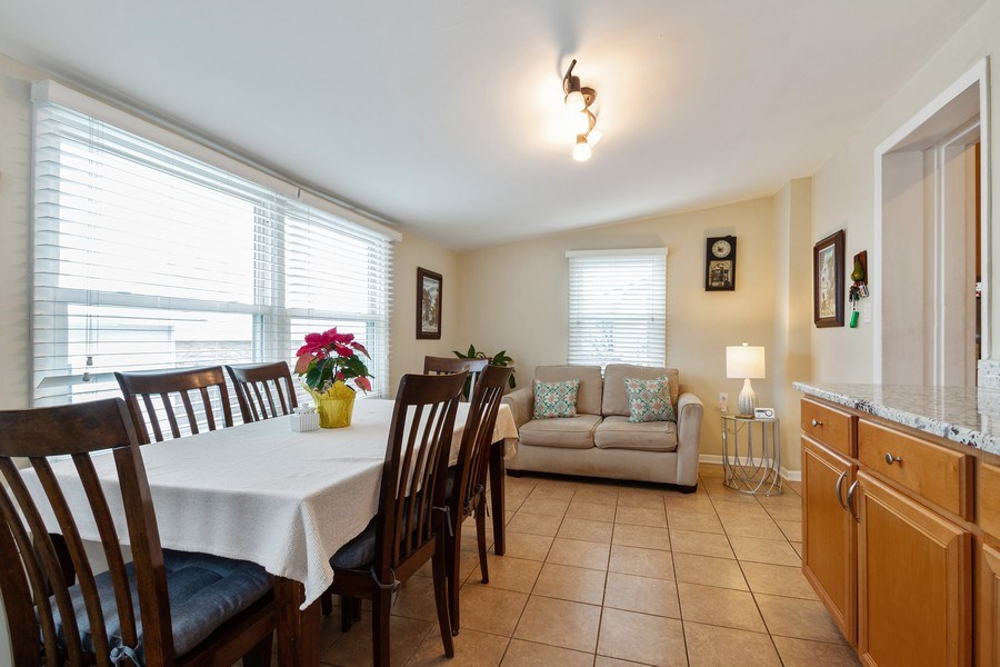 Real Estate Photography - 5319 W. Agatite Avenue, Chicago, IL, 60630 - Family Room