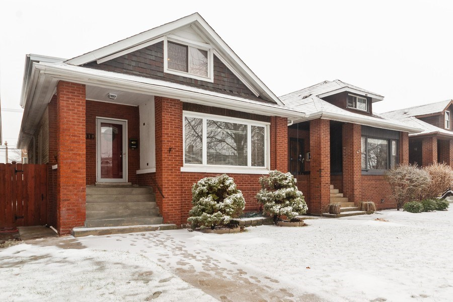 Real Estate Photography - 5319 W. Agatite Avenue, Chicago, IL, 60630 - Front View