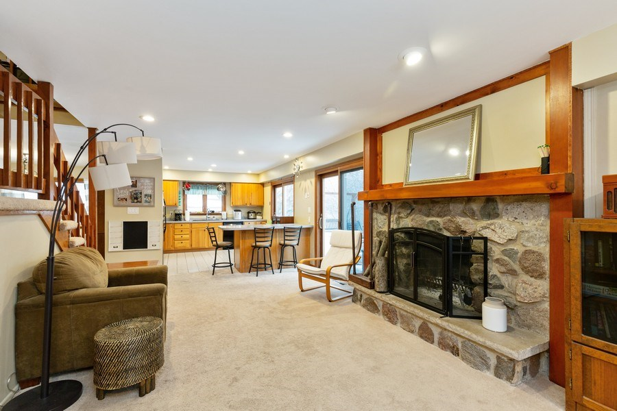 Real Estate Photography - 558 Greenbrier Lane, Crystal Lake, IL, 60014 - Family Room