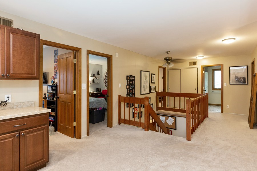 Real Estate Photography - 558 Greenbrier Lane, Crystal Lake, IL, 60014 - Hallway