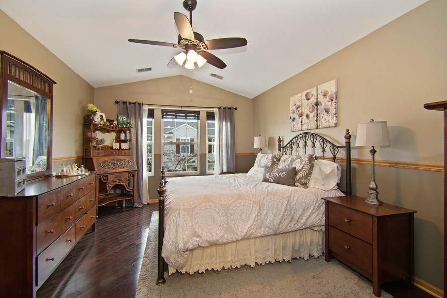 Real Estate Photography - 2334 Reflections Drive, Aurora, IL, 60502 - Master Bedroom