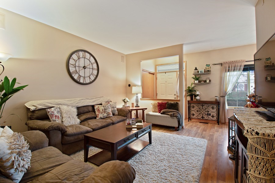 Real Estate Photography - 2334 Reflections Drive, Aurora, IL, 60502 - Living Room