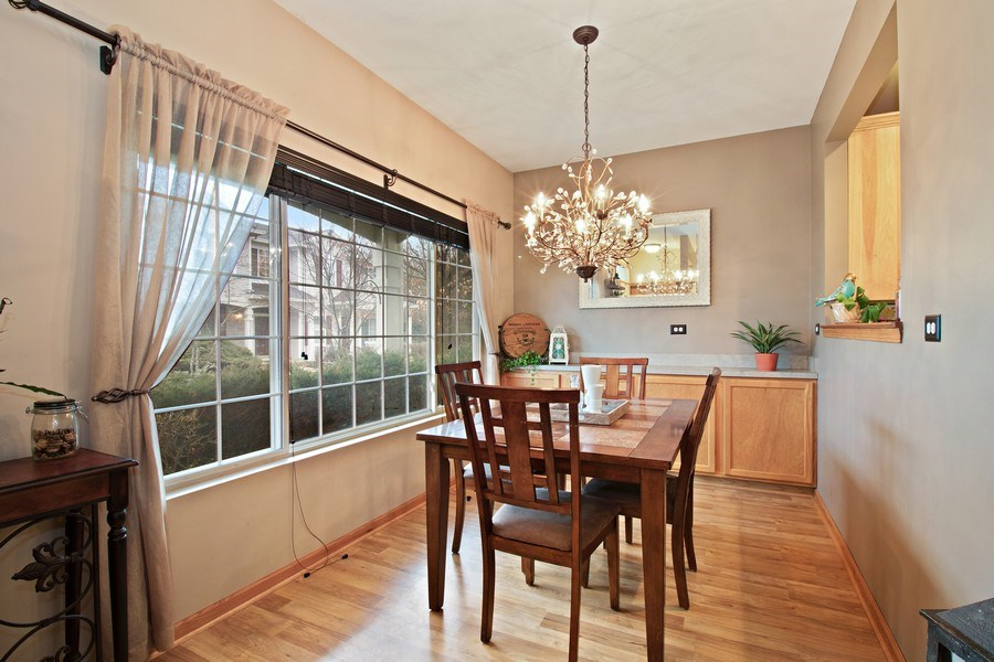 Real Estate Photography - 2334 Reflections Drive, Aurora, IL, 60502 - Dining Room