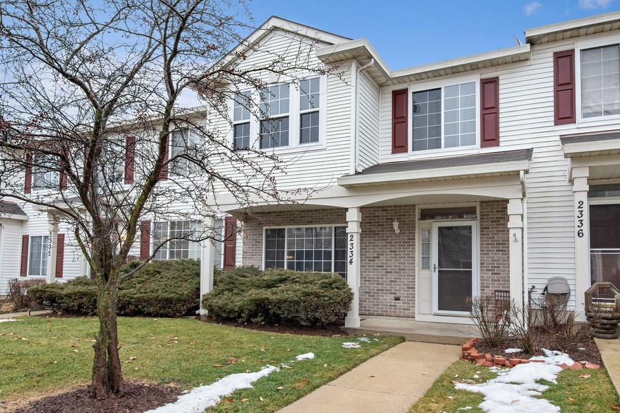 Real Estate Photography - 2334 Reflections Drive, Aurora, IL, 60502 - Front View