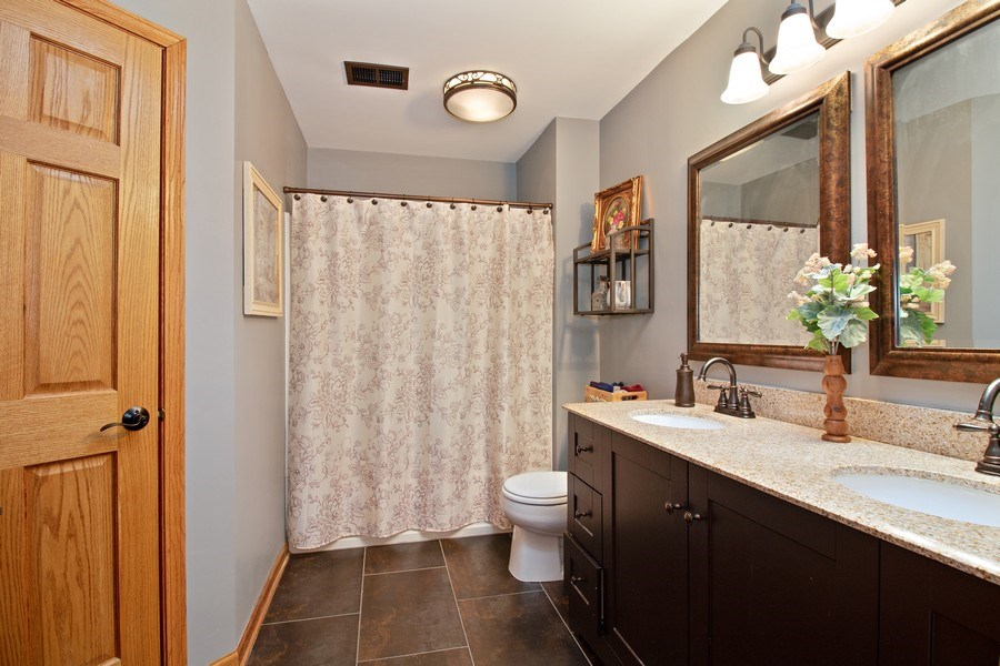 Real Estate Photography - 2334 Reflections Drive, Aurora, IL, 60502 - Bathroom