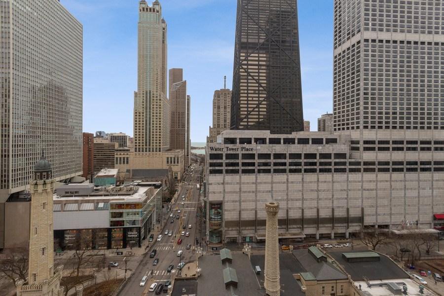 Real Estate Photography - 777 N. Michigan Avenue, Unit 2101, Chicago, IL, 60611 - View