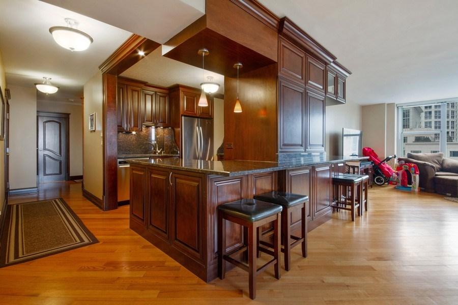 Real Estate Photography - 777 N. Michigan Avenue, Unit 2101, Chicago, IL, 60611 - Kitchen