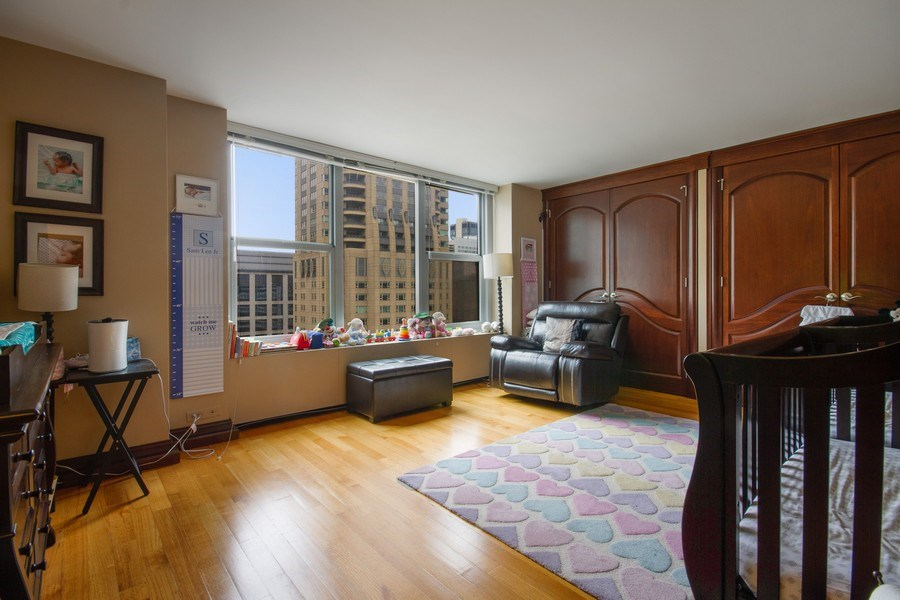 Real Estate Photography - 777 N. Michigan Avenue, Unit 2101, Chicago, IL, 60611 - Bedroom