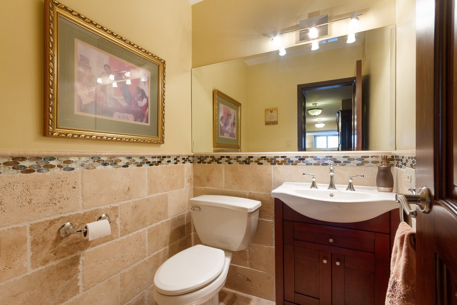 Real Estate Photography - 777 N. Michigan Avenue, Unit 2101, Chicago, IL, 60611 - Bathroom