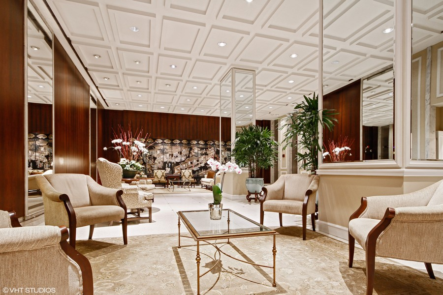 Real Estate Photography - 777 N. Michigan Avenue, Unit 2101, Chicago, IL, 60611 - Lobby